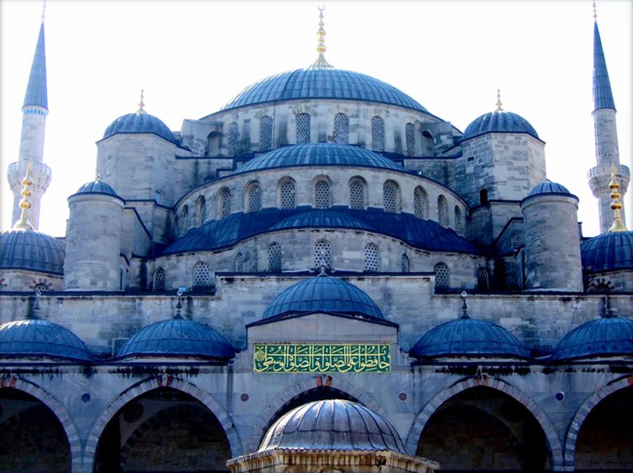Moschea blu di lucaldera