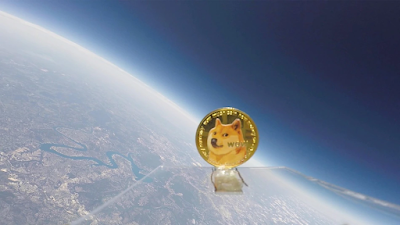 YouTuber Sends Dogecoin to Space on Weather Balloon as Tribute to Elon Musk