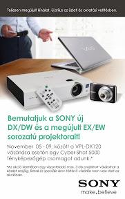Sony reklám plakát tervezés.