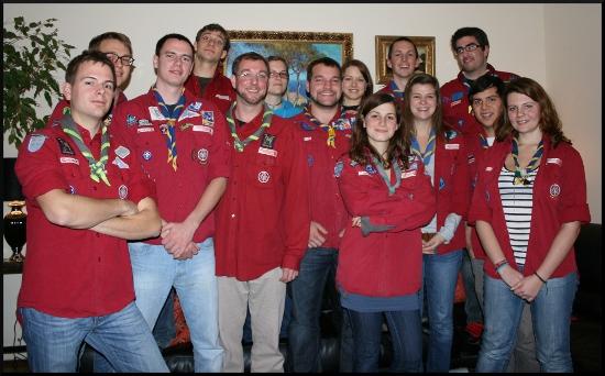 Gruppenfoto Team Dezember 2011