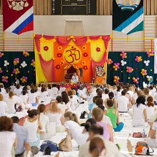 Третий приезд Свами Пармананда Джи Махарадж в Россию - благотворительный семинар по ЙОГЕ в Уфе