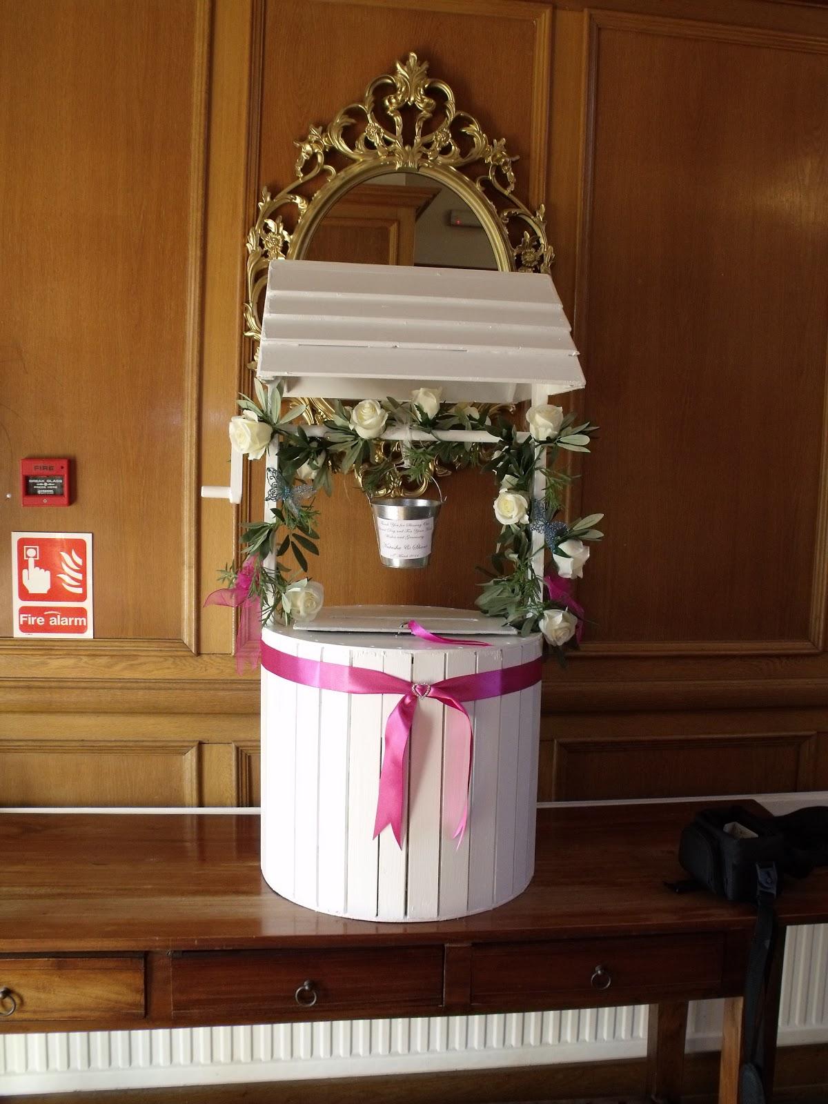 ideas for wishing wells at weddings wishing well wedding Nannette S Blog Pea Wedding Cakes Wedding Invitation Wishing Well Es