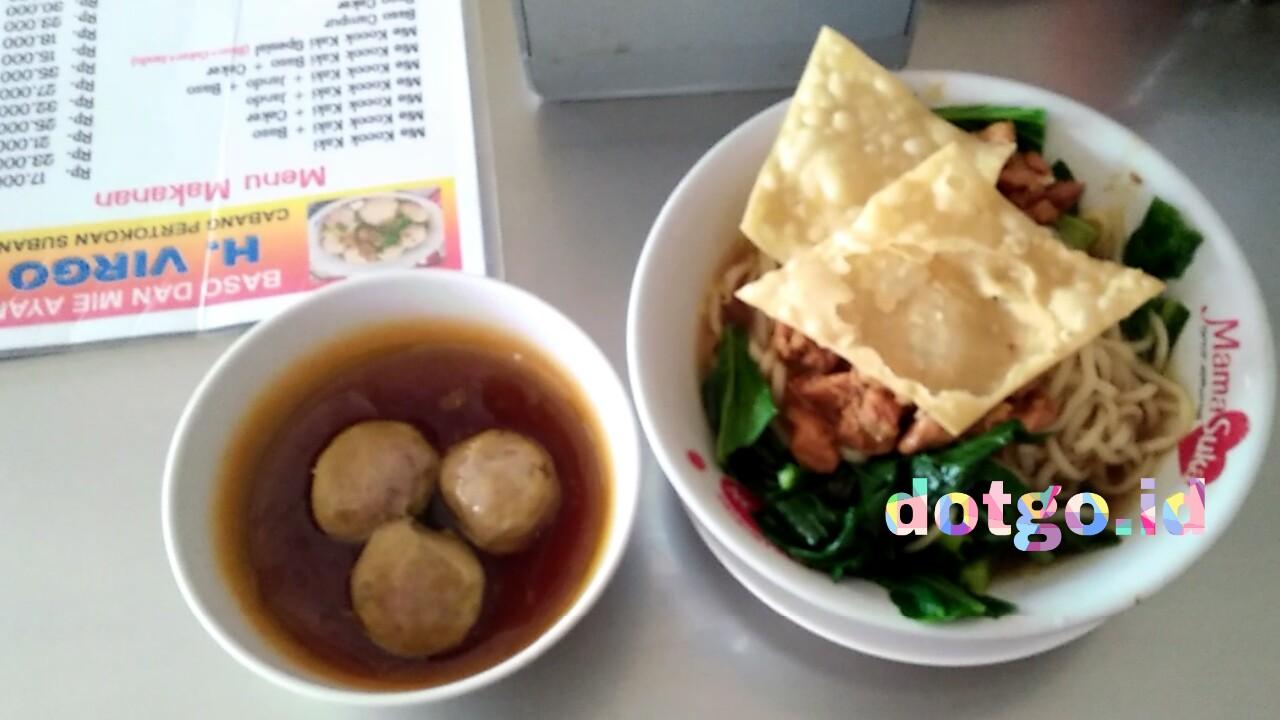Bakso Virgo Subang Kuliner Bakso Mie Ayam Dan Mie Kocok Enak