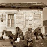 1977 г. Семиостровье.Остров  Вешняк. Ночь...