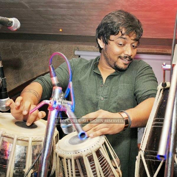 Hiten Parmar at Honey Katiyal's 36th birthday party held in Delhi.