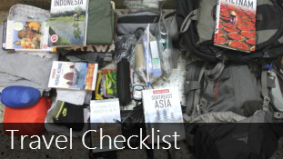 Travel Checklist for Long Backpacking Trips