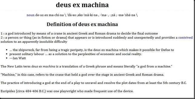 ex-deus-machina