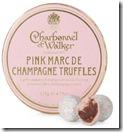 Charbonel et Walker Pink Champagne Truffles