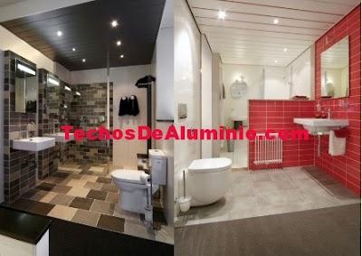 Precio techos baños Madrid
