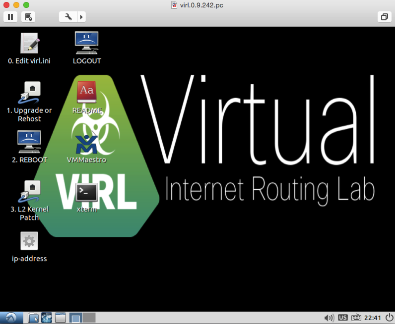 Virl desktop