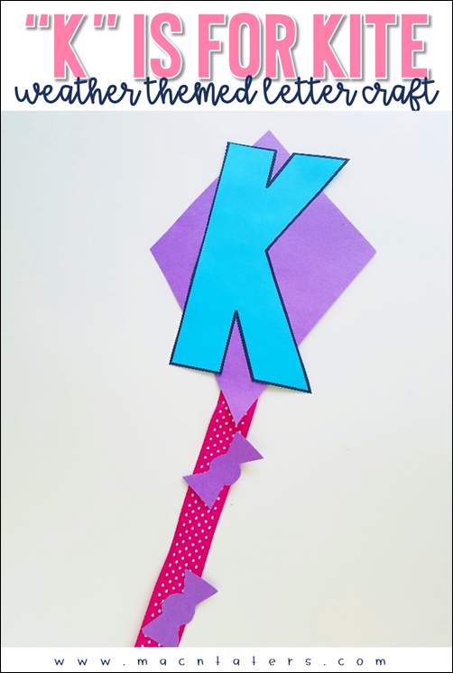 K is for Kite letter craft