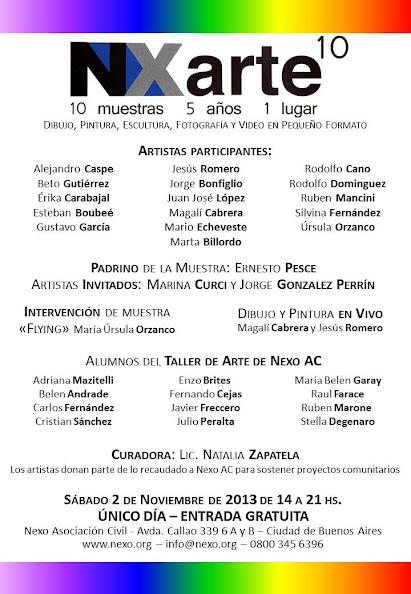 NX arte 10ma. Edición