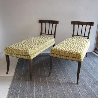 Chaise Lounge Pair