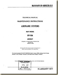 North American OV-10A Maintenance Instructions - Airframe_01
