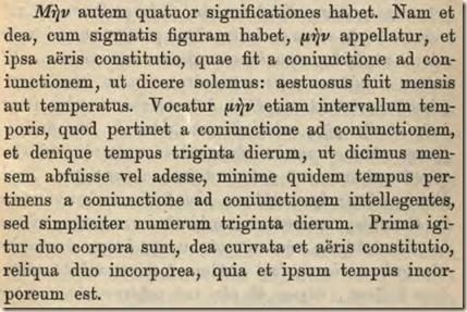 Cleomedes. Month. Ziegler ed.p203