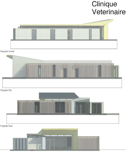 Clinique et bureaux maison container for Projet container