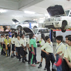 Field Trip To Automobile Workshop (Grade 5) 03.09.2016
