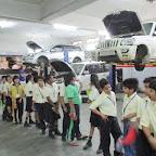 Field Trip To Automobile Workshop (Grade 5) 03.09.2016