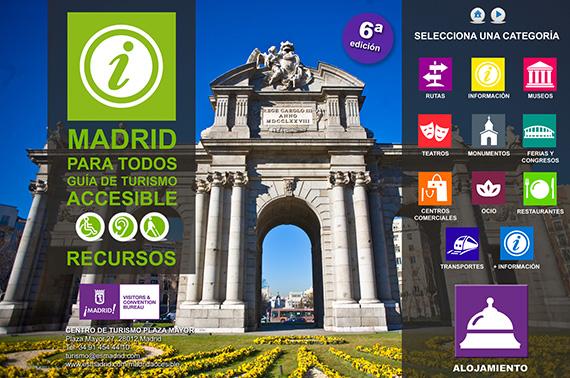 Sexta edición de la Guía de Turismo Accesible de Madrid