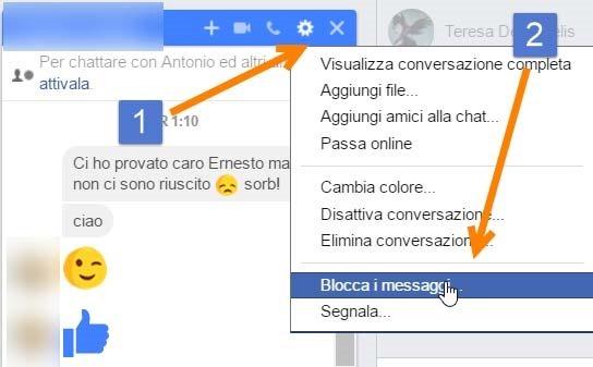 bloccare-utente-messenger