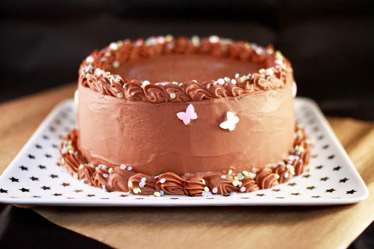 Chocolate Nutella Layer Cake Recipe