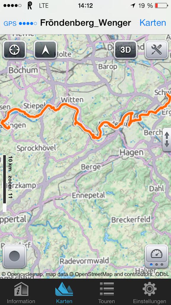 Ruhrtalradweg von Schwerte bis Hattingen - 1