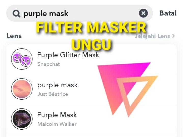 Lihat Cara Mencari Filter Di Snapchat paling mudah