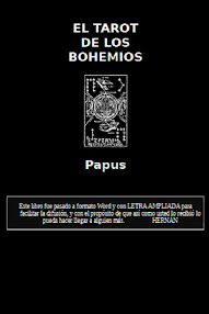 Cover of Papus's Book El Tarot de los Bohemios (in Spanish)