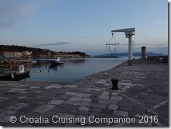 Croatia Cruising Companion - Senj, hoist