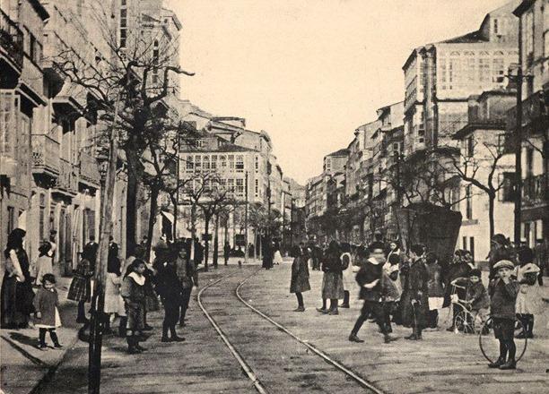 calle San Andrés, la primera de 1912 y la segunda de 1996