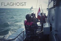 Dua Kapal Perang TNI AL Gelar Latihan Bersama