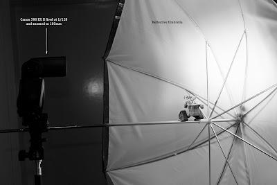 Setup - Wall-e on a Wire
