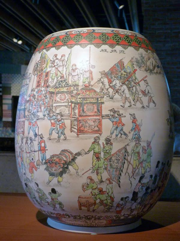 Restaurant aborigene pres de Xizhi, Musée de la céramique Yinge - P1140777.JPG