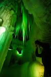 Ice cave.