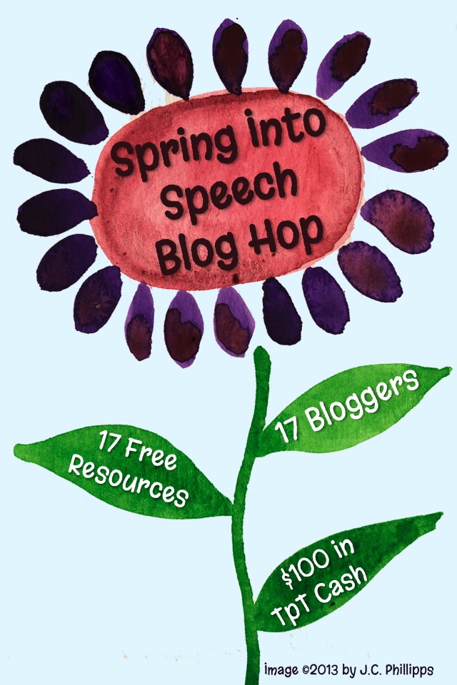 Spring Into Speech Blog Hop - Stop 16 image