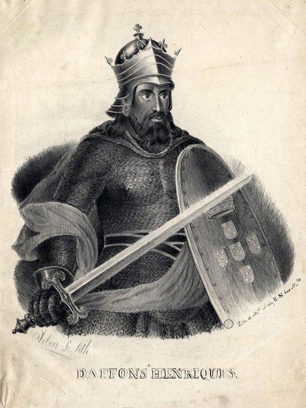 Национальный герой Афонсу Энрикеш