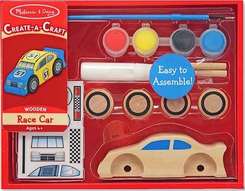 Hộp sản phẩm Bộ tô màu và thiết kế xe đua số 51 bằng gỗ ME4575