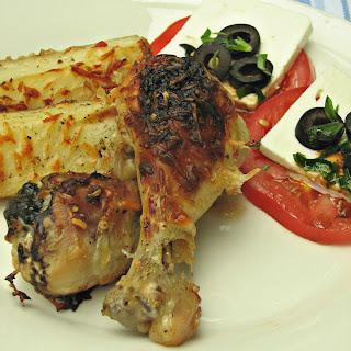 Chicken and Potato Casserole.