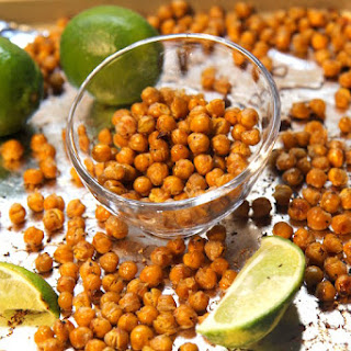 Coconut Lime Roasted Chickpeas - Vegan and Gluten-Free!.
