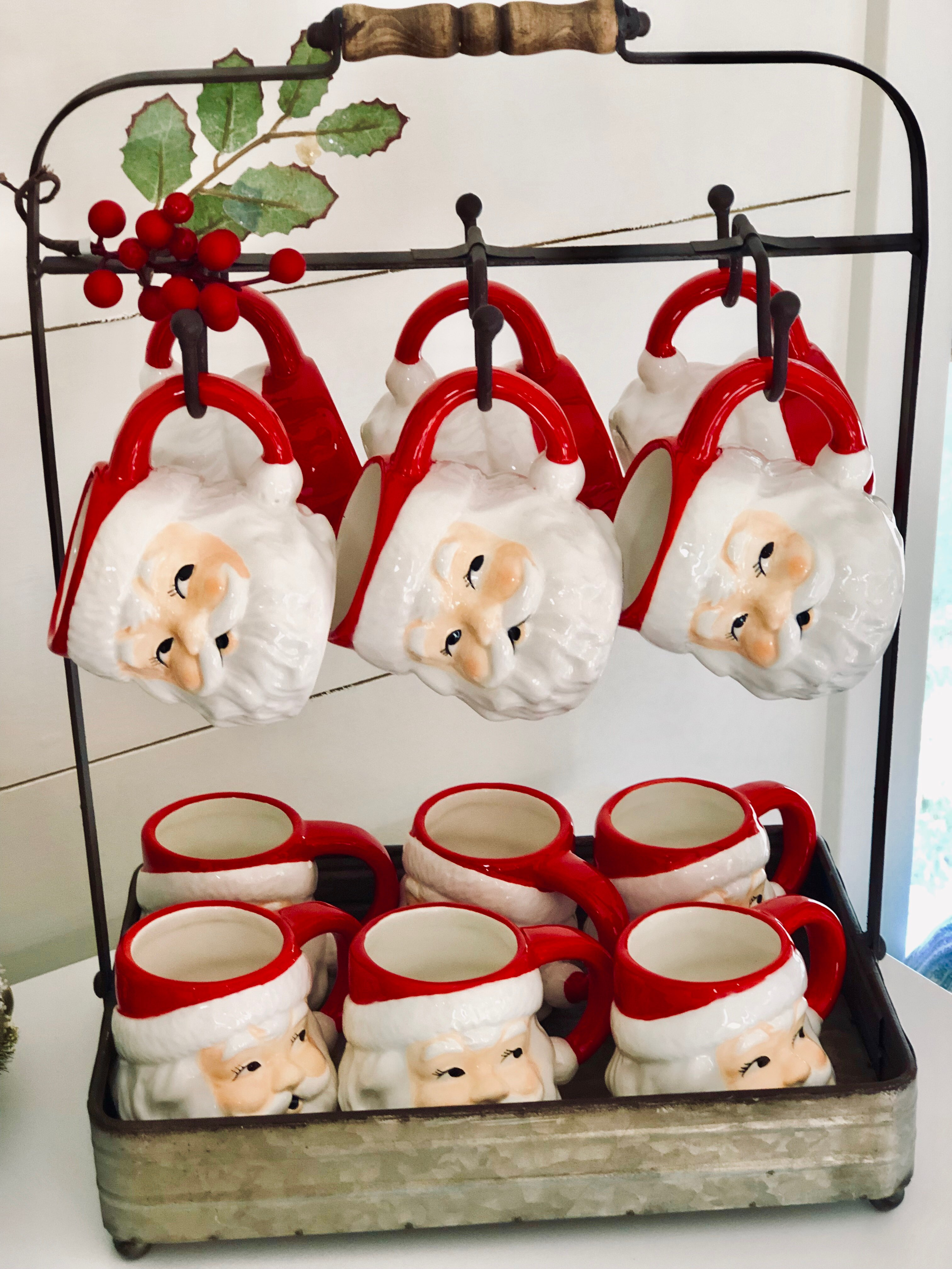 Santa Mugs, Target Christmas, Hot Chocolate recipe, Christmas