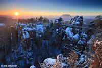 Bastei - Ein Wintermärchen (http://www.Naturfoto-Steudner.de)