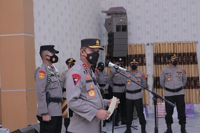 Kapolda Lampung Kembali Menggerakkan Gerbong Mutasi Jabatan Para Perwira