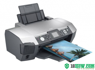 How to Reset Epson PM-D870 lazer printer – Reset flashing lights error