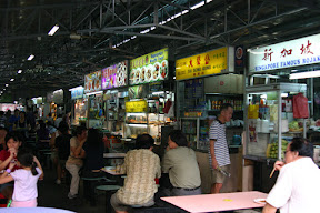 Hawker stands
