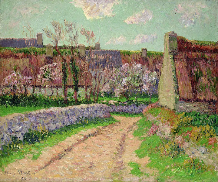 Henry Moret - Village in Clohars,1898