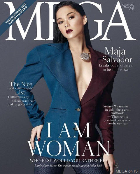 Maja Salvador for Mega Dec 2017