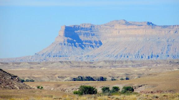 Book Cliffs northwest of Green River