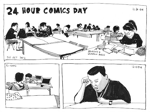 24 Hour Comics Day 2012 Singapore