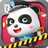 Little Panda Policeman Icon