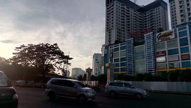 Progess Pembanguna MRT Jakarta Site View Depan Poins Square